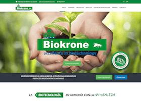 Biokrone página web