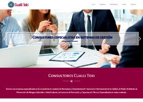 Consultores Cualli Teki Página web
