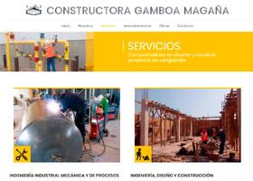 Constructora Gamboa Magaña Página Web