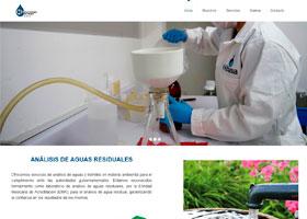 Hibasa Análisis de Aguas Residuales Página Web