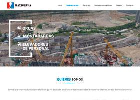 Maxigruas Página Web