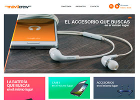 MovilCrew Página Web