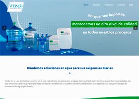 Agua Wesser Página Web